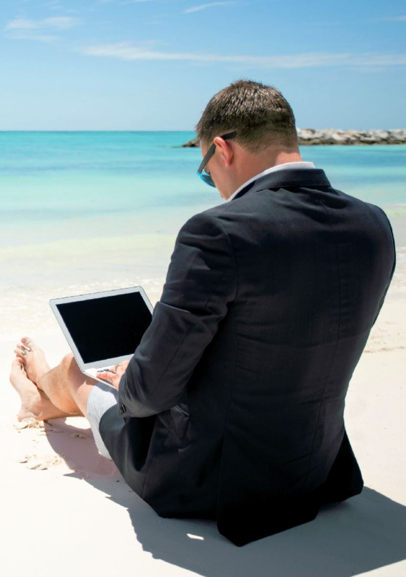 Raison N°10 : Vous révez d'un bureau à la plage